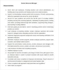 28 images of template job description responsibilities infovia net