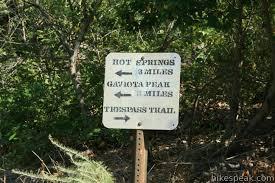 Interior Signs Trail Gaviota Peak Trail Santa Barbara Central Coast Hikespeak Com