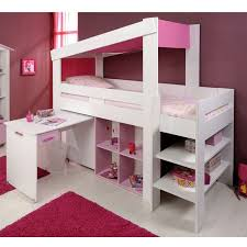 chambre fille lit mezzanine lit mezzanine bureau fille maison design sibfa com