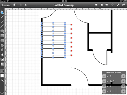 step 17 adding the stairs touchdraw for ipad floorplan tutorial