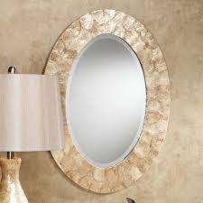 White Oval Bathroom Mirror by Bathroom Furniture Oval Bathroom Mirrors Home Depot Shape Chrome