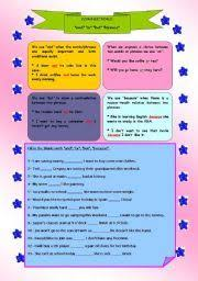 english worksheet conjunctions and or but projects to try