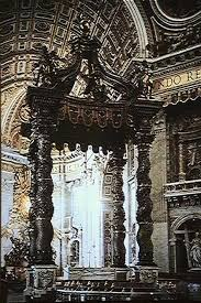 baldacchino by bernini 4600 images of and architecture