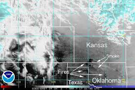 map ok panhandle wildfires continue to spread in kansas oklahoma and