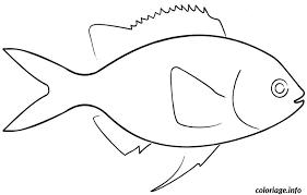 coloriage poisson d avril a decouper dessin