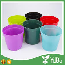 garden 0 8 12cm coloured plastic plant flower pots reliable