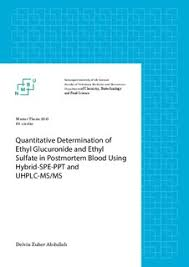 Quantitative determination of ethyl glucuronide and ethyl sulfate     bibsys brage Master thesis