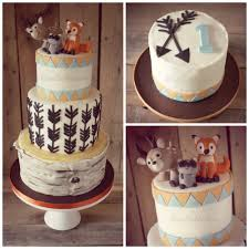 woodland cake toppers behance