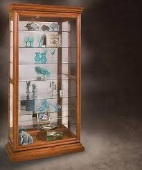 Curio Furniture Cabinet Inspiring Glass Lighted Curio Cabinets 29 On Decoration Ideas With