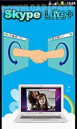 skype android app skype lite plus android app free in apk