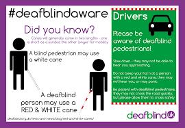 Walking Stick For Blind People Deafblind Awareness Red And White Canes Deafblind Uk