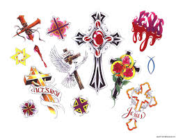 crosses tattoos designs cross tattoos