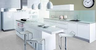 cuisines blanches la cuisine blanche par cuisinella