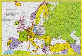 Map Of The Europe by 1960 Europe Jpg