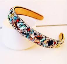 rhinestone headbands best 2015 new korean hair accessories luxury colorful