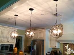 Crystal Chandelier Dining Room Kitchen Kitchen Island Pendants Kitchen Island Lighting Dining