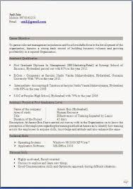 Objective For Mba Resume Format For Resume American Resume Format Resume In Us Format