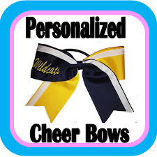 personalized bows personalizedcheerbows png