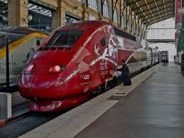 Thalys Comfort 1 Thalys 9315 First Class Train Ride Paris Nord Amsterdam Youtube