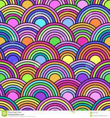 imagenes abstractas con circulos modelo inconsútil abstracto con los círculos coloridos ilustración