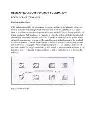 design procedure for raft foundation foundation engineering