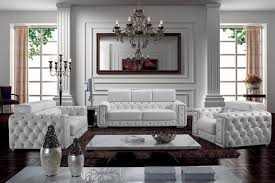 White Tufted Leather Sofa by 21 Living Room Tufted Leather Sofa Designs