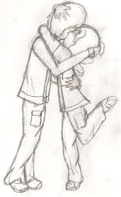 neo x damian kiss sketch by trainerkelly on deviantart