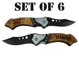engraved pocket knives for groomsmen personalized gun knife with led pocket knife engraved