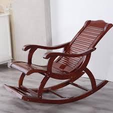 hardwood indoor modern rocking chair rocker living room furniture or outdoor as balcony chair wooden
