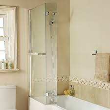 bath screens over bath shower screens from bathshop321 technik 6 angled return screen