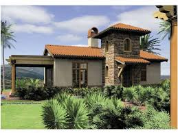 eplans mediterranean house plan one bedroom mediterranean 972