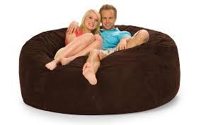 Where Can I Buy Bean Bag Chairs Goliath 6 U0027 Shaggybag Bean Bag Chairs Furniture Store Online