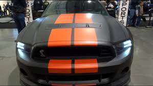2013 Ford Mustang Black Matte Black 2013 Ford Mustang Shelby Gt500 Youtube
