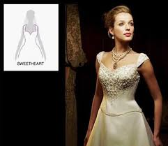 wedding dress for big arms how to choose a wedding dress with a special neckline jjshouse