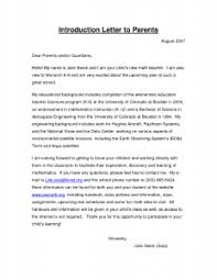 collection of solutions sample teacher introduction letter to