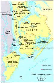 map of new city map of new york city and surrounding areas major