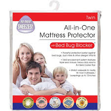 Mattress Cover Bed Bugs Luxury Cotton Rich Bed Bug Blocker Zippered Mattress Protector