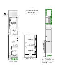 floorplan of 102 mill hill road bondi junction nsw