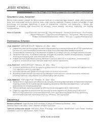 Sample Resume Objectives Law Enforcement by Legal Resume Objective How Do We Write Resignation Letter