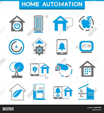 Home Automation Logo Design Smart Home And Home Automation Icons Stock Vector U0026 Stock Photos