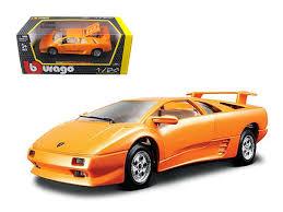 lamborghini diablo orange diecast model cars wholesale toys dropshipper drop shipping