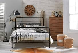 designer jessica king single size black metal bed frame king