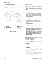 6 fuel filter skytrak 6036 service manual user manual page 100