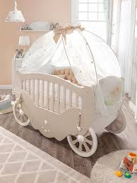 Baby Crib Next To Bed Bedroom Dreamy Princess Room Ideas With White Princess Carriage