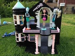 48 best dollhouse for monster high images on pinterest dollhouse