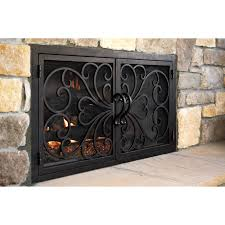 classic rectangular fireplace door 1 ams fireplace inc