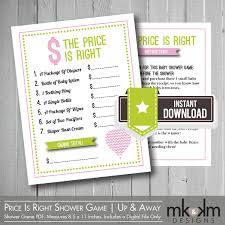 baby shower price is right answers home design ideas