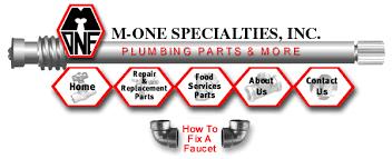 Pioneer Faucet Parts M One Specialties Inc Plumbing Supplier