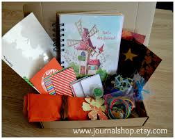 personalized art journal kit for kids children art kit
