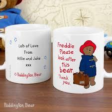personalised paddington bear mug specialmoment uk